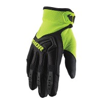 Thor Spectrum Youth Kids Motocross Gloves BLACK ACID