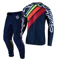 2020 Troy Lee Designs TLD MX SE Pro Air Motocross Gear SECA 2.0 NAVY ORANGE