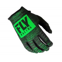 2019 Fly Racing Kinetic Noiz Motocross Gloves Green Black