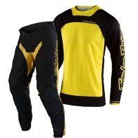 2020 Troy Lee Designs BOLDOR TLD MX SE Pro Motocross Gear Yellow Black