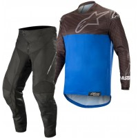 Alpinestars Venture R Enduro Gear Pants & Jersey BLACK BLUE 30 ONLY