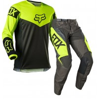 2021 Fox 180 Youth Kids Motocross Gear REVN FLO YELLOW