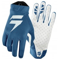 2019 Shift 3LACK Label AIR Motocross Gloves BLUE WHITE