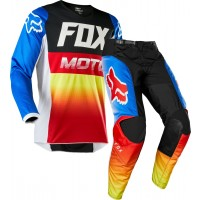 2020 Fox 180 Motocross Gear FYCE BLUE RED