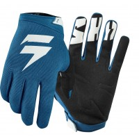 2019 Shift WHIT3 Label Air Motocross Gloves BLUE XXL ONLY