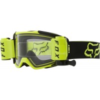 2021 Fox VUE STRAY Motocross Roll Off Goggles Flo Yellow