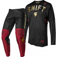 Shift 3LACK LABEL MUERTE Limited Edition Motocross Gear BLACK GOLD 38 ONLY