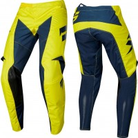 2019 Shift WHIT3 Label YORK Kids Youth Motocross Pants YELLOW NAVY