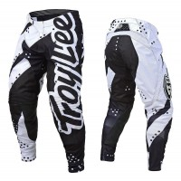 Troy Lee Designs Shadow TLD MX SE Motocross Pants White Black