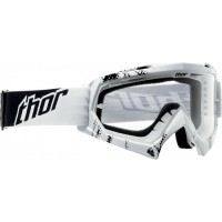 Thor MX Enemy Kids Youth Motocross Goggles Web White