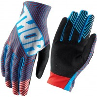 Thor Void Geotec Kids Youth Motocross Gloves RED
