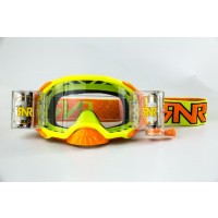 Rip n Roll Colossus WVS Platinum Roll Off Motocross Goggles Yellow
