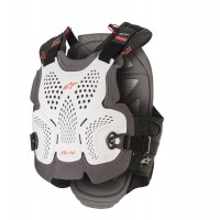 NEW Alpinestars A4 MAX Chest Protector White