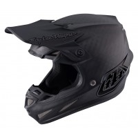Troy Lee Designs SE4 Midnight Black Carbon Motocross Helmet
