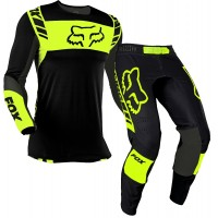 2021 Fox Flexair Motocross Gear MACH ONE FLO YELLOW