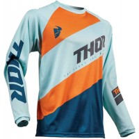 2019 Thor Sector SHEAR Motocross Jersey SKY SLATE XXL ONLY