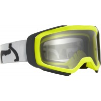 2020 Fox AIRSPACE PRIX Motocross Goggles YELLOW GREY