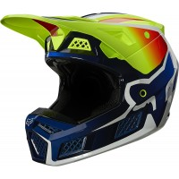 2021 Fox V3 RS WIRED Motocross Helmet Flo Yellow XL ONLY