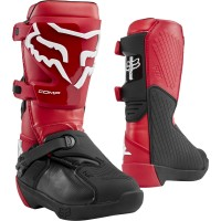 2020 Fox Comp Youth Kids Motocross Boots Flame Red