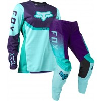 2021 Fox 180 VOKE WOMENS Motocross Gear AQUA 10 ONLY