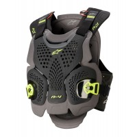 NEW Alpinestars A4 MAX Chest Protector Anthracite