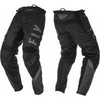 2020 Fly Racing F16 Youth Kids Motocross Pants Black Grey