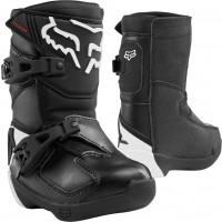 2020 Fox Comp K Kids Toddler Peewee Motocross Boots Black