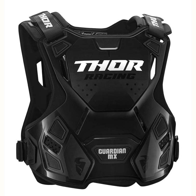 NEW Thor Guardian Adult Motocross Chest Protector Body Armour Black