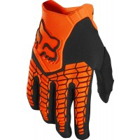 Fox Pawtector Motocross Gloves FLO ORANGE