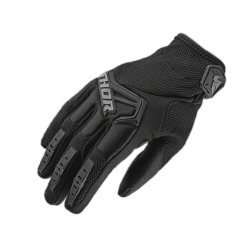 Thor Spectrum Youth Kids Motocross Gloves BLACK
