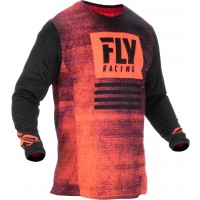 2019 Fly Racing Kinetic Noiz Motocross Jersey Red Black
