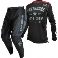 Fasthouse Grindhouse Offroad Enduro Gear BLACK PHANTOM BLACK