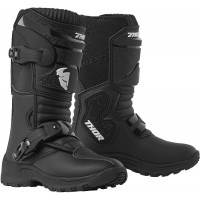 Thor Blitz XP Mini Peewee Kids Motocross Boots Black