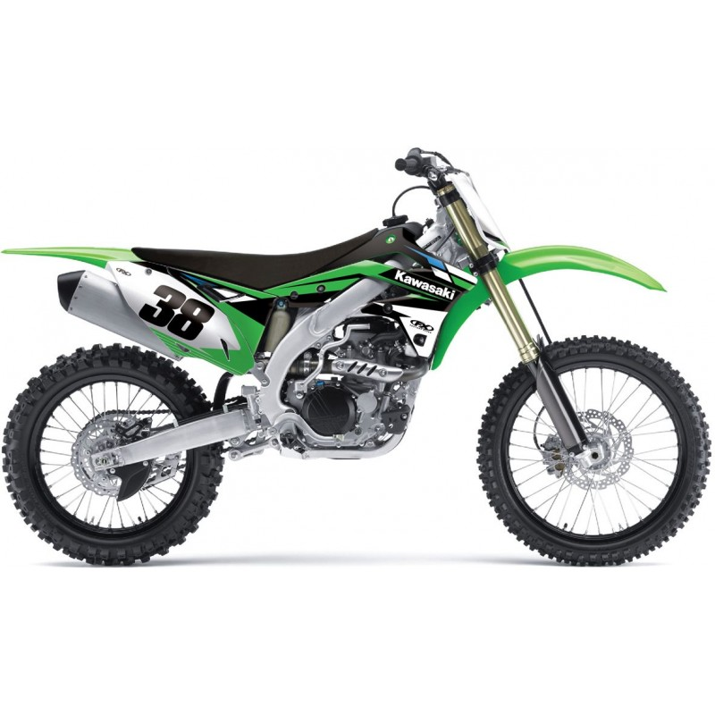 NEW Factory Effex Kawasaki KX KXF EVO12 Evo 12 Motocross Graphics