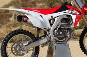 Yoshimura Rs9 Complete Motocross Exhaust System Honda Crf250 Crf450