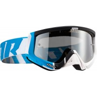 Thor MX Sniper BARRED Motocross Goggles Blue White