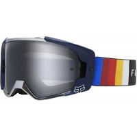 2020 Fox VUE SPARK Motocross Goggles VLAR Black with Mirrored Lens