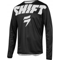 2019 Shift WHIT3 Label YORK Motocross Jersey BLACK