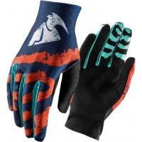 Thor Void Rampant Kids Youth Motocross Gloves FLO ORANGE