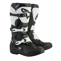 Alpinestars Tech 3 Motocross Boots Black White UK13 ONLY