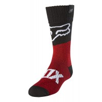 Fox Youth Kids REVN Motocross Socks Flame Red