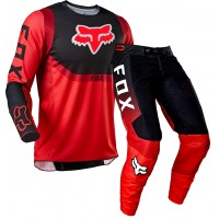 2021 Fox 360 Motocross Gear VOKE FLO RED