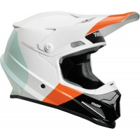 NEW Thor Sector MIPS Motocross Helmet BOMBER WHITE RED ORANGE