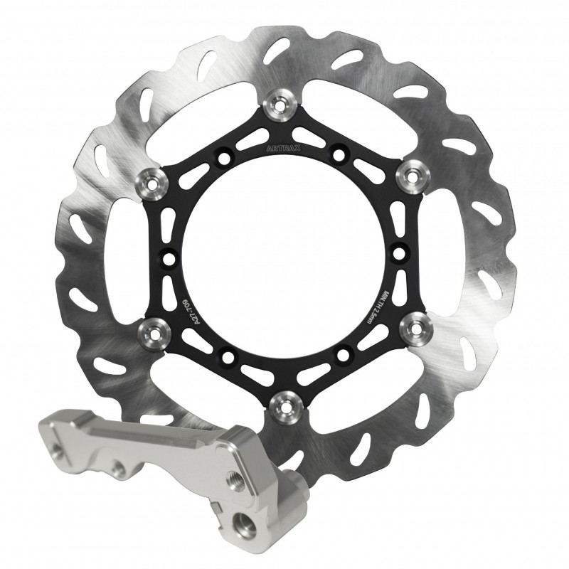 Artrax Racing 270mm Oversize Motocross Wavey Brake Disc Kit