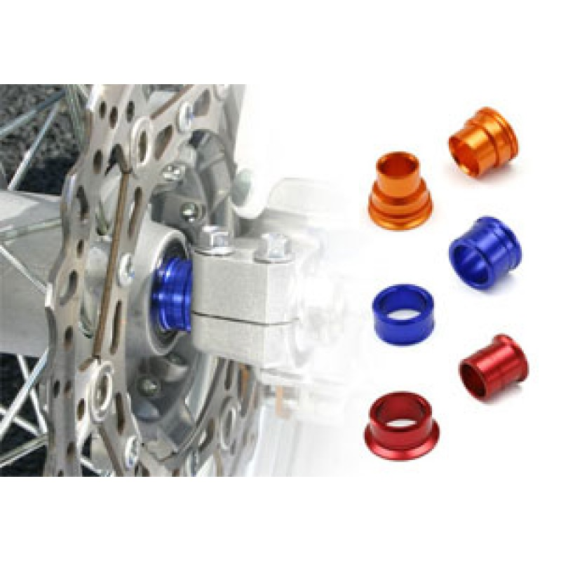 Zeta Anodised Motocross Bike Wheel Spacers