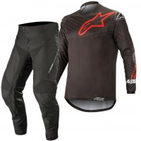 Alpinestars Venture R Enduro Gear Pants & Jersey BLACK RED 30 ONLY