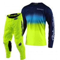 2020 Troy Lee Designs TLD GP AIR STAIND Motocross Gear Navy Yellow SMALL or XXL ONLY