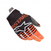 2020 Alpinestars RADAR Kids Motocross Gloves Anthracite Flo Orange