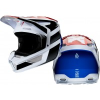 2020 Fox V2 HAYL Motocross Helmet BLUE RED