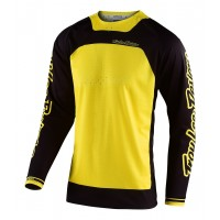 Troy Lee Designs BOLDOR TLD MX SE Pro Motocross Jersey Yellow Black